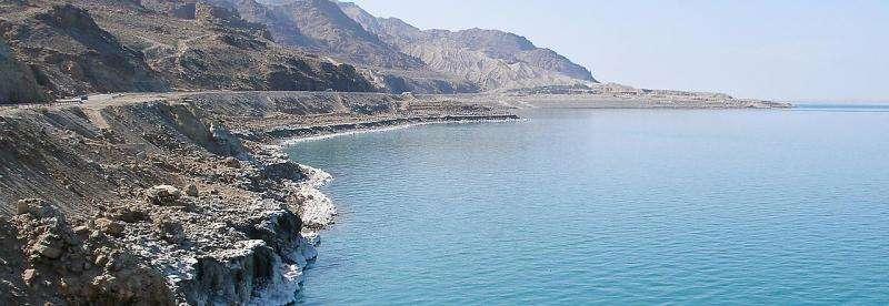 Research investigates causes of sea level falls in Dead Sea