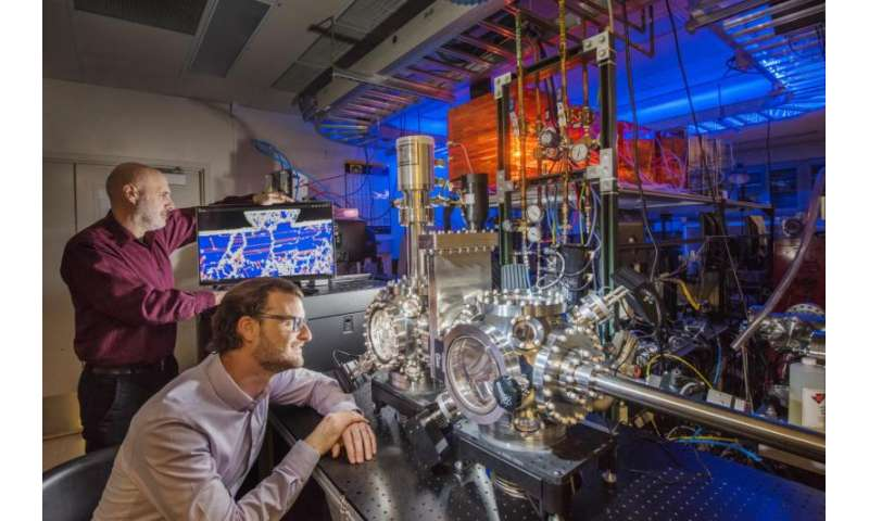 Research looks at friction properties of material