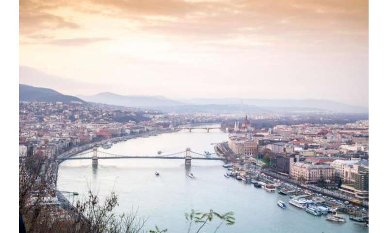 Residential heating tops sources of PM2.5 in Danube region's urban areas
