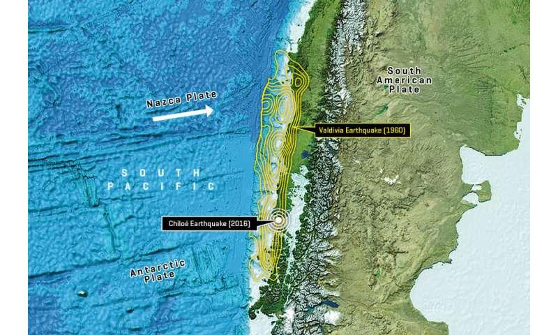Residual strain despite mega earthquake