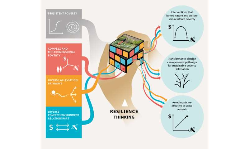 Resilience offers escape from trapped thinking on poverty alleviation