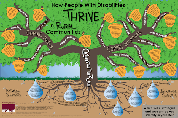 Resilience study examines how people with disabilities live successfully in rural areas