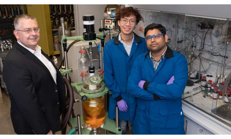 Rice scientists simplify the incorporation of nitrogen into molecules