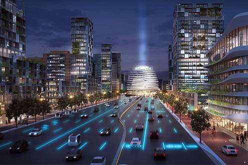 Ring roads of the future in an urban context