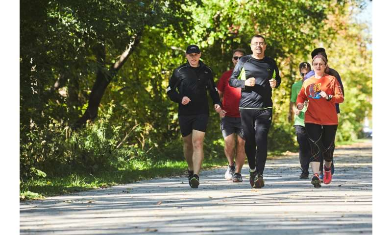 Running group helps half its graduates quit smoking