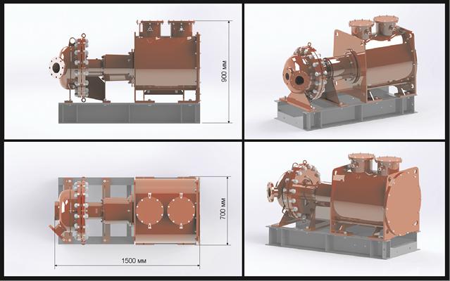 Russian researchers developed high-pressure natural gas operating turbine-generator