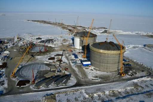 Russia's gigantic Yamal LNG plant in Arctic Siberia is one of the most ambitious such projects in the world