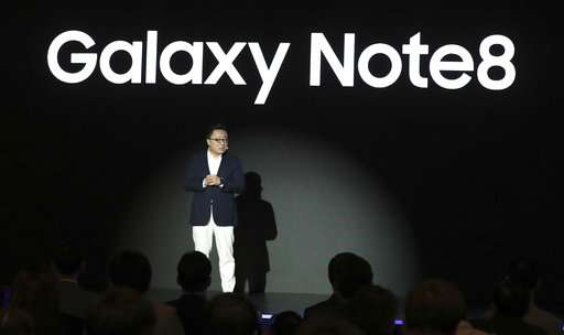 Samsung Galaxy Note 8 with 6.3-inch Infinity display launched in India