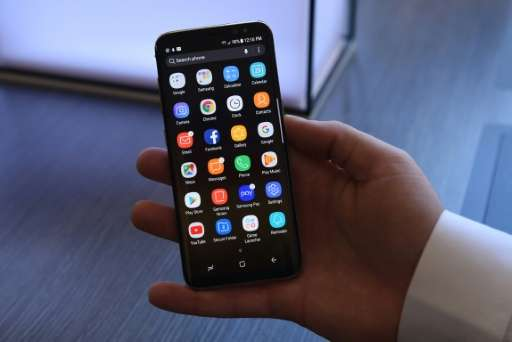 Samsung's flagship S8 smartphone incorporates its virtual assistant Bixby, which competes in a crowded field that includes Apple