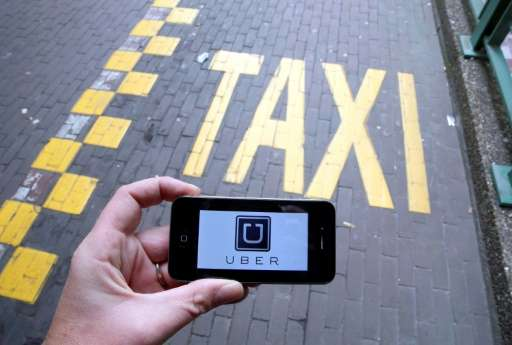 San Francisco-based Uber insists it is a service, not a transport provider, connecting riders with freelance drivers directly an