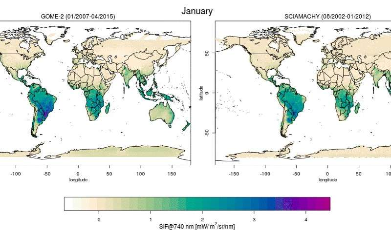 Satellites map photosynthesis at high resolution