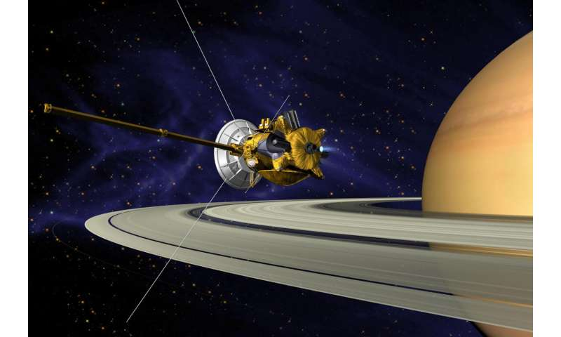 Saturn spacecraft toting CU Boulder instrument starts swan song