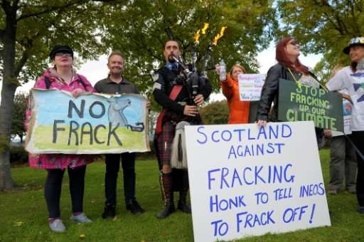 "Scotland's government said it would be banning fracking, extending the current moratorium ""indefinitely"" following a c"