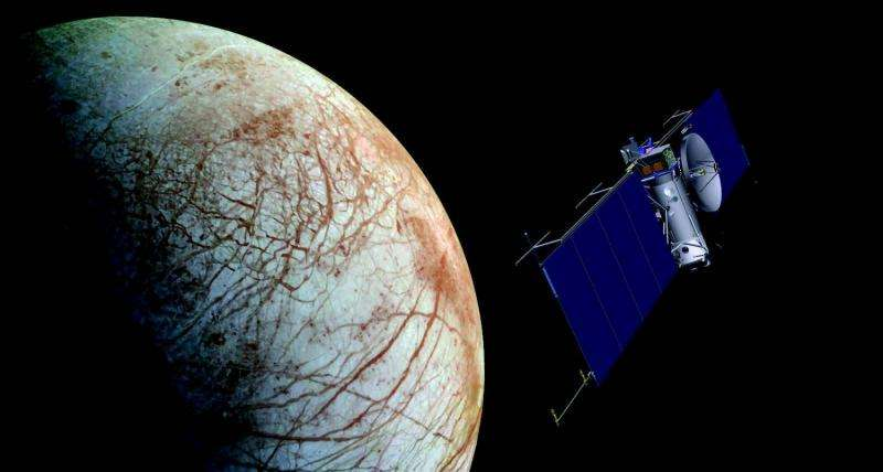 Seven SMD-supported instruments to search for evidence of life on Europa