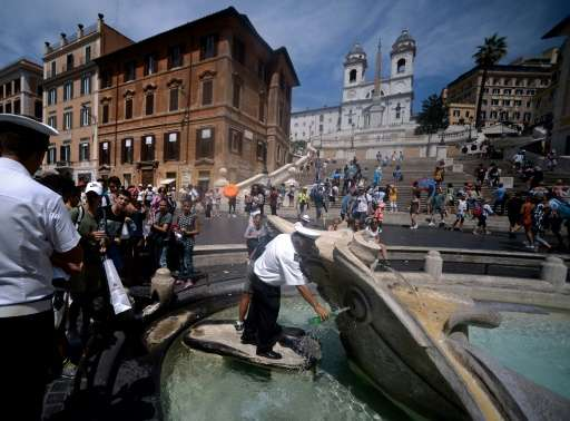 Several areas of Italy including the capital Rome are struggling with water shortages