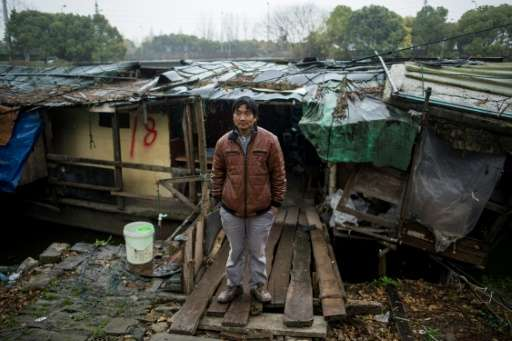 Shanghai officials have told the Xinchapu boat-dwellers to clear the place they have called home for decades by mid-April
