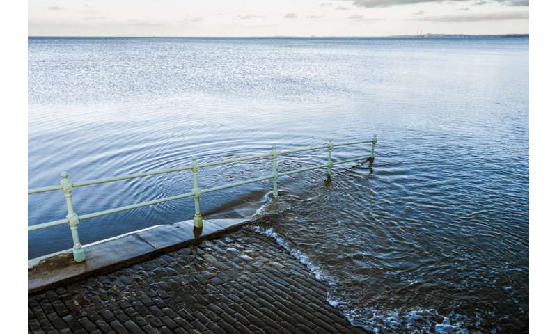 Short-lived greenhouse gases cause centuries of sea-level rise