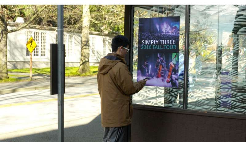 Singing posters and talking shirts: UW engineers turn objects into FM stations