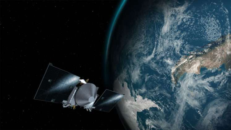 'Sling-shot' show for NASA spacecraft over Australia