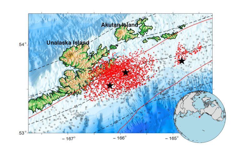 Slow earthquakes occur continuously in the Alaska-Aleutian subduction zone
