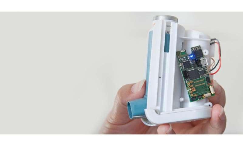 Smart inhaler to help asthma sufferers breathe easier
