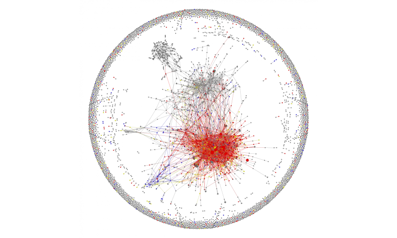 Social scientists reveal structure of AIDS denialist online communities