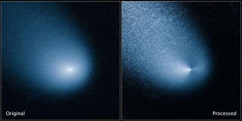 Solar eruption 'photobombed' Mars encounter with Comet Siding Spring