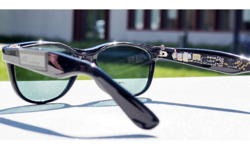 Solar glasses generate solar power
