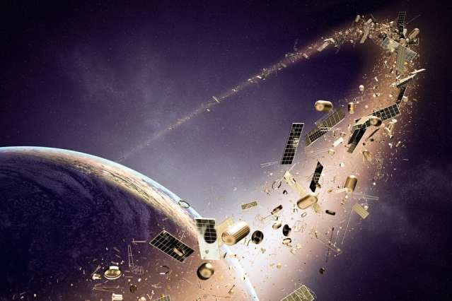 Space junk—the cluttered frontier
