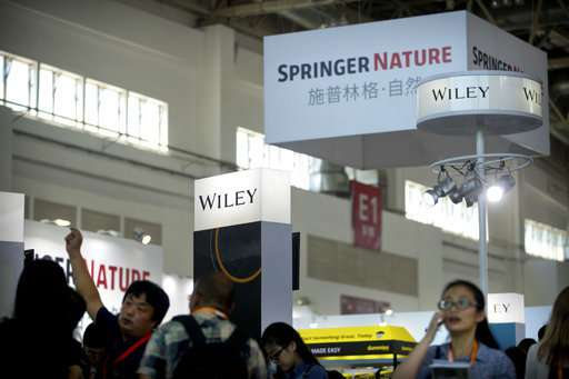 Springer Nature blocks access to articles in China