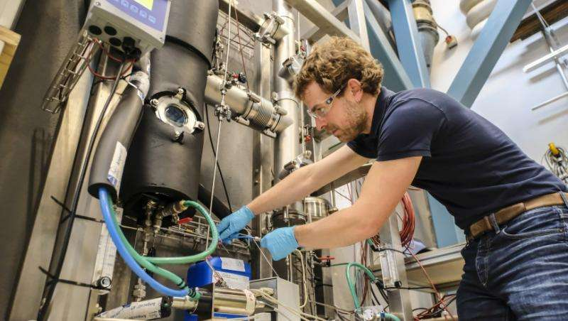 Storing thermal solar energy from summer to winter