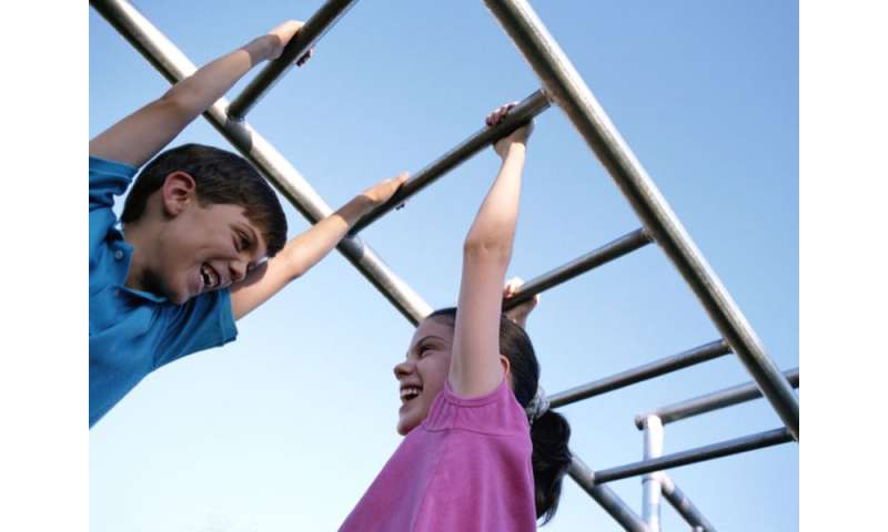 Stronger muscles may pump up kids' memory skills