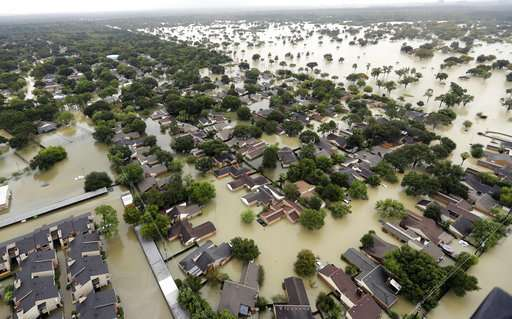 Studies: Warming made Harvey's deluge 3 times more likely