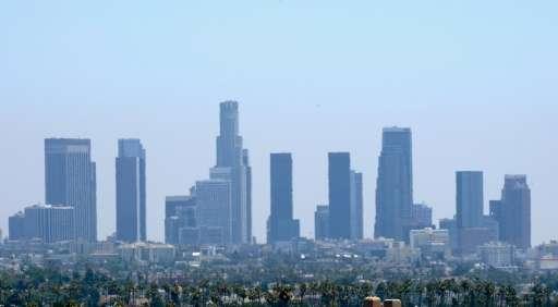 Summer temperatures in Los Angeles regularly surpass 100 degrees Fahrenheit (38 degrees Celsius)