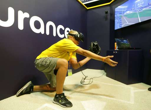 Take me out to the screen: VR baseball a hit