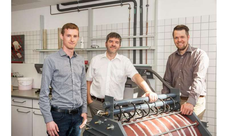 Team researches thermal conductivity of cable bedding materials