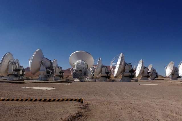 The ALMA array in Chile joins global VLBI arrays for unprecedented leap in resolving power
