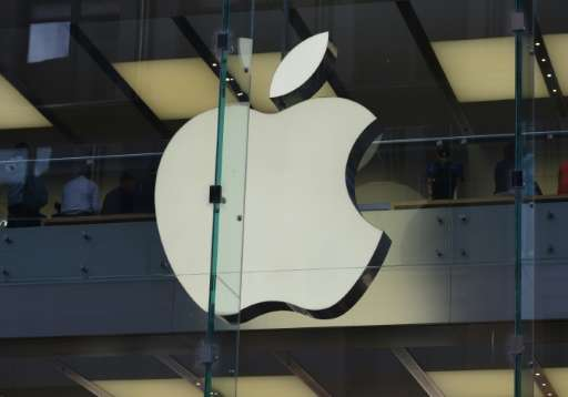 The Apple logo at a store in the central business district of Sydney. Apple holds its Worldwide Developers Conference next week
