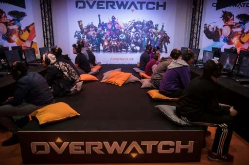 "The eSports league for ""Overwatch"" is set to make its debut in December, cashing in on a growing trend of video gaming"