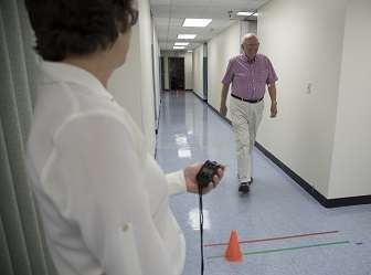 The hippocampus underlies the link between slowed walking and mental decline