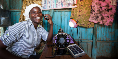 The impact of solar lighting in rural Kenya