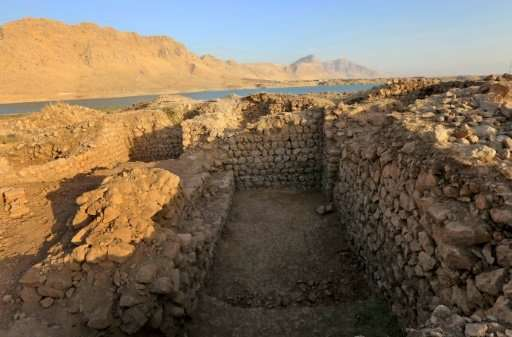 The lakeside site was discovered by a team of Iraqi and British archaeologists led by experts from the British Museum