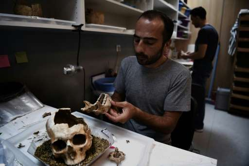 The mass grave was found in one of Greece's biggest excavation sites ever unearthed, where, in 2012, archaeologists discovered o