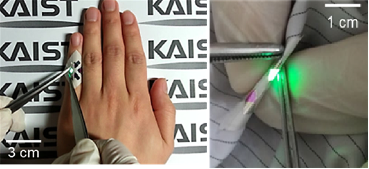 The Medici Effect: Highly flexible, wearable displays born in KAIST