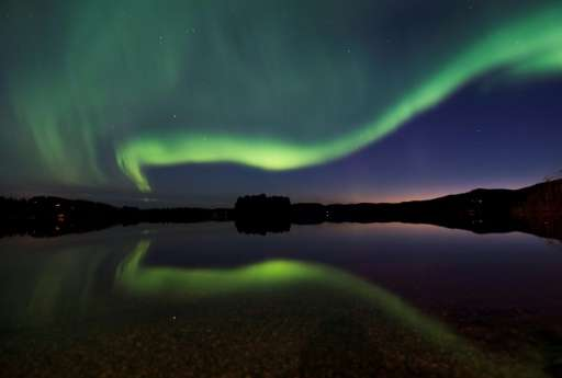 The Northern Lights have helped draw tourists to the Arctic