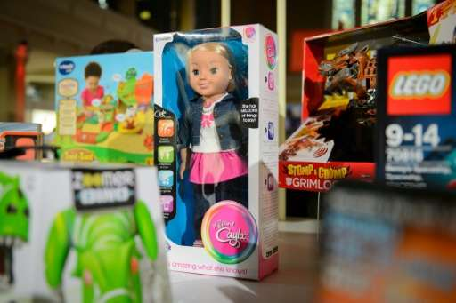 "The now banned talking doll, ""My Friend Cayla"", worried German surveillance agencies as it can record and transmit any"