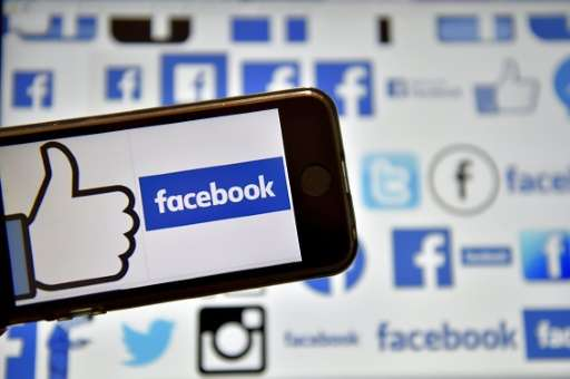 The number of people using Facebook monthly increased 17 percent to 1.86 billion