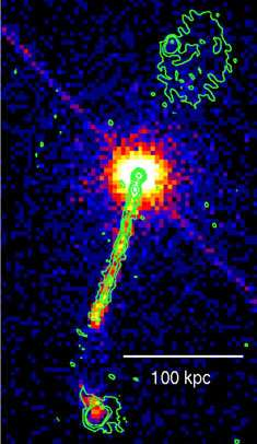 The remarkable jet of the quasar 4C+19.44