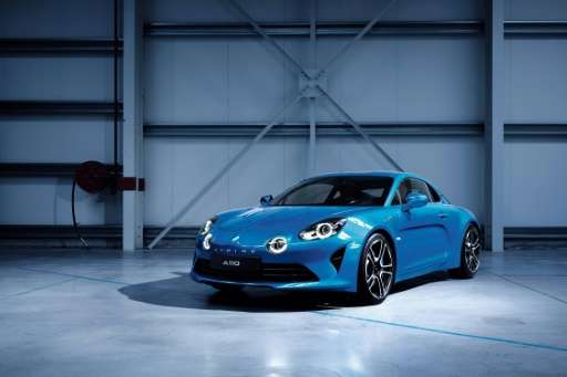 There's always the glamour as car makers showcase the stuff of dreams like Renault's new Alpine model