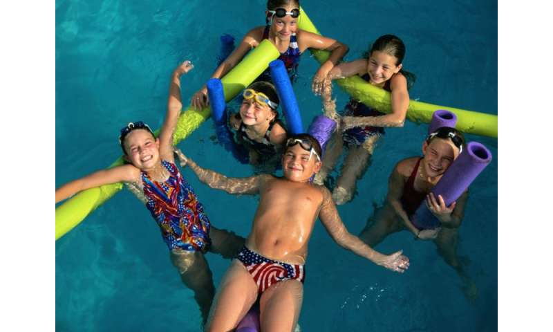 There's fun and fitness in the pool for asthmatic kids